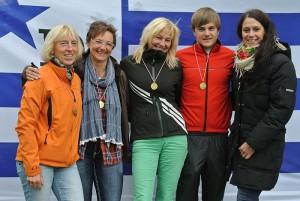 Rheinmarathon 2012 - Siegerehrung