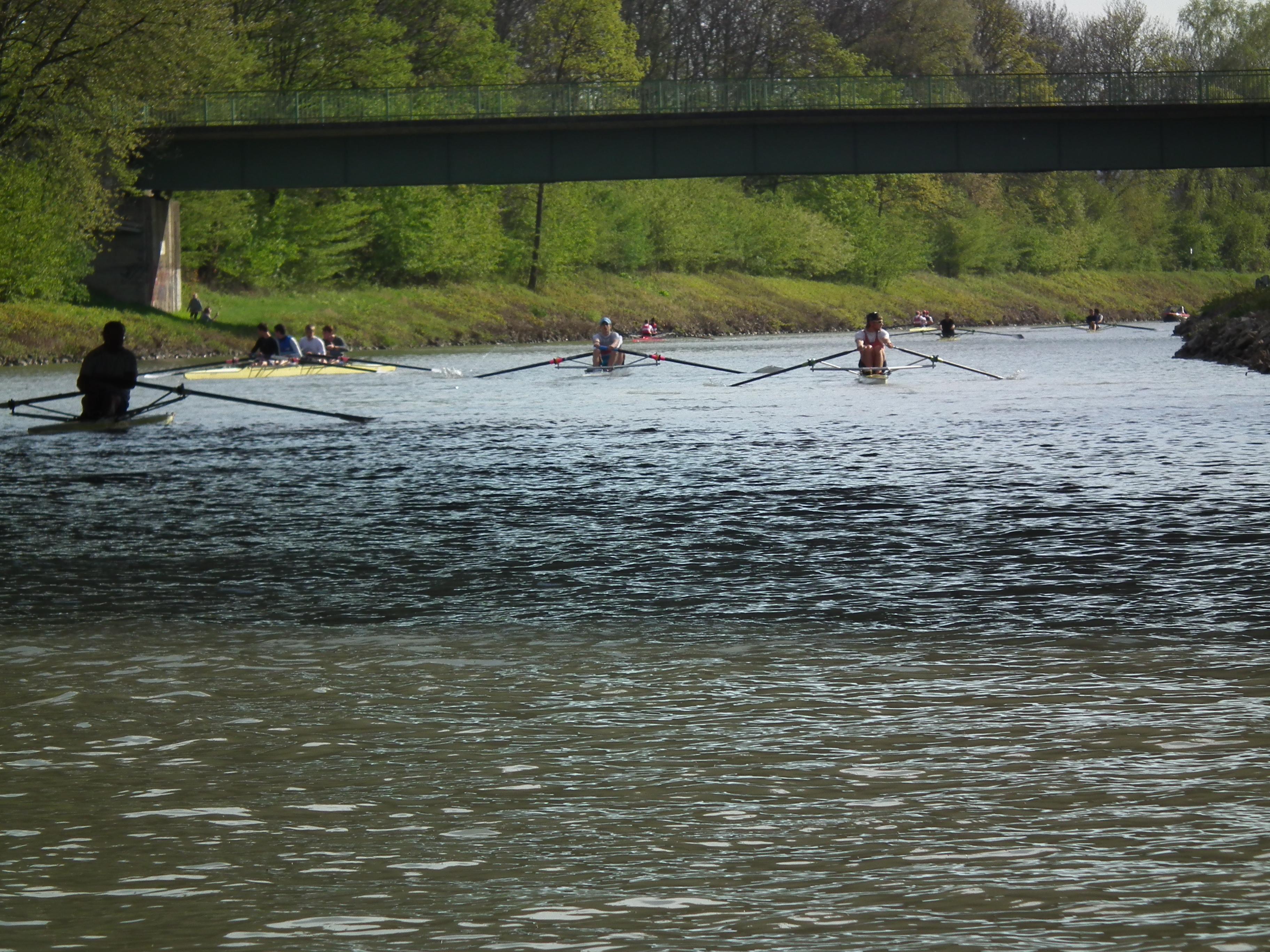 Boote vor einer Belastung